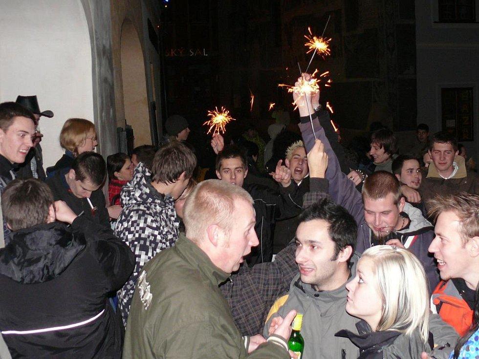 Příchod nového roku je třeba oslavit.