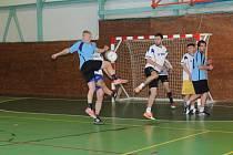 Závěrečné play off zakončilo sezonu sálovkářů v Prachaticích.