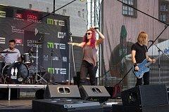 Sobotní koncert Xterra Music festivalu v Prachaticích. Foto: Tomáš Prášek