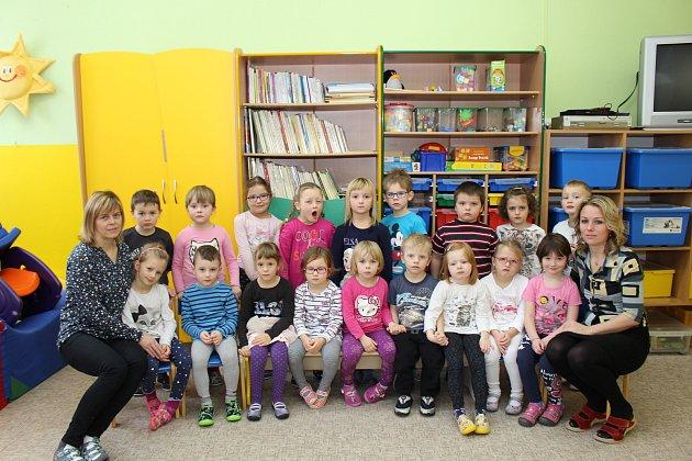 Představujeme děti ze druhé třídy MŠ ve Zdíkově.