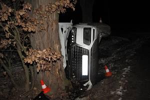 Dopravní nehoda u Malovic na Prachaticku.