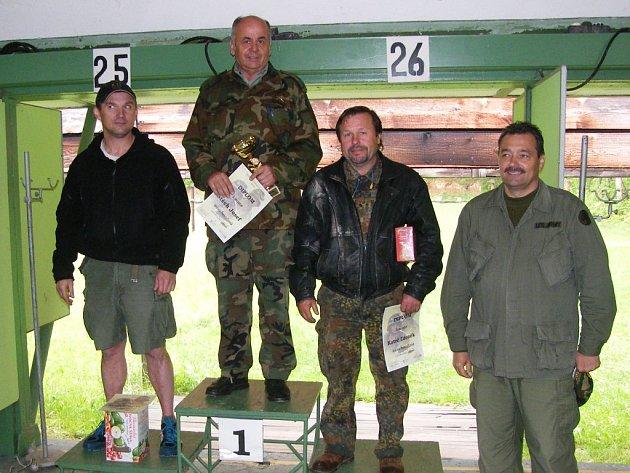 Josef Štěch vyhrál hned dvě disciplíny.