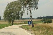 Trasa přes Břehov do Němčic.