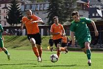 Fotbalová I.A třída: Vimperk - Prachatice 1:2.