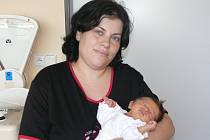 Nikola Nováčková se v prachatické porodnici narodila v úterý 14. ledna v 4.00 hodin. Vážila 3000 gramů. Doma v Netolicích na maminku Lucii a malou Nikolu čeká tatínek Miroslav a sestřička Lucinka (7 měsíců).