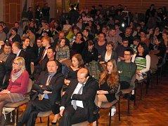 Prachatice a Vimperk se střídají při slavnostním oceňování Talentů okresu. Letos se ceny předávaly ve Vimperku.