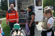 Stovky návštěvníků se v tomto týdnu vystřídaly na stanovištích, která byla připravena při Světovém dni první pomoci v Prachaticích a ve Vimperku.