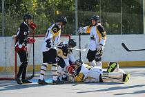 II. liga hokejbalu: HBC Prachatice - HBC Volary 11:0.