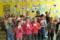 Lenorská škola připravila pro děti Velikonoční dílnu.