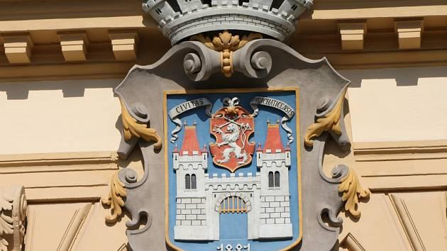 Prachatická radnice, ilustrační foto