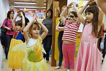 Děti z prachatického pracoviště mateřské školy v České ulici přivítaly jaro.