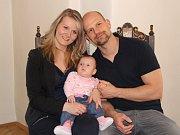 Natálie Krčálová s rodinou.