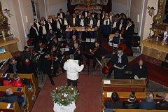 Třetí adventní koncert ve Volarech.