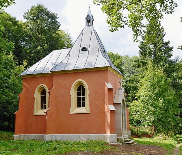 Kaple sv. Markéty na Lázních sv. Markéty u Prachatic.