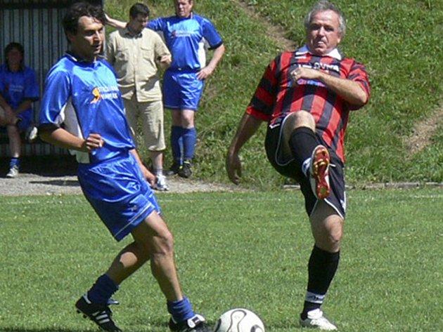 Kozlovna hrála krásný fotbal.