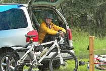 Svatý Petr přívětivý k cyklistům nebyl
