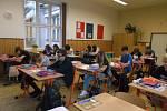 První školní den na ZŠ TGM ve Vimperku.