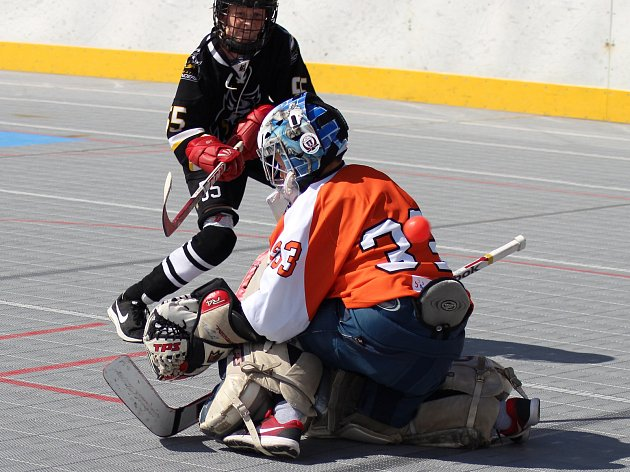 Prachatická Highlanders aréna hostila další krajský turnaj přípravek.