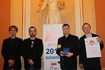 Klarinetisté Jan Hovorka, Petr Chalupský, Tomáš Janoušek a Jaroslav Masáček.