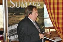 Křest knihy Zakázaná Šumava.