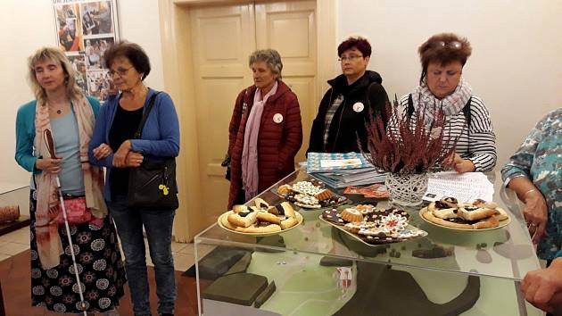 Prachatičtí senioři vystavují v Plzni.
