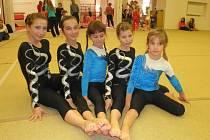 Vimperské gymnastky zakončili podzim v Č. Budějovicích.