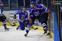 V neděli nás opět čeká hokejová krajská liga. Ilustrační foto.