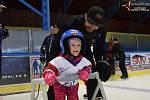 Děti si zkusily led, rodiče vědí, co znamená mít doma hokejistu.