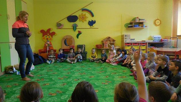 Týden zdraví si užily děti v Mateřské školce ve Volarech.