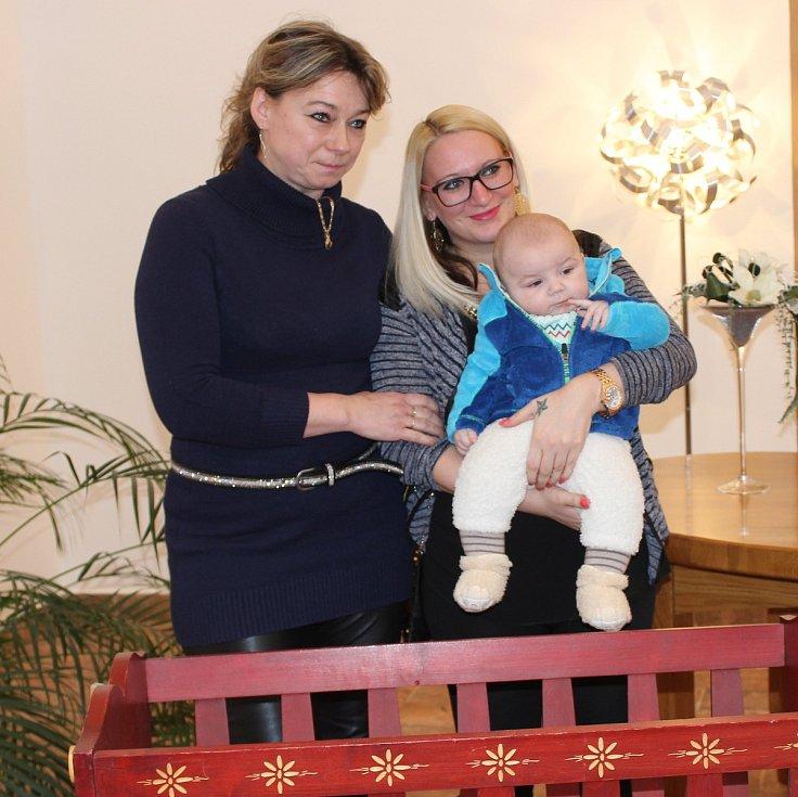 Vítání občánků ve Volarech.