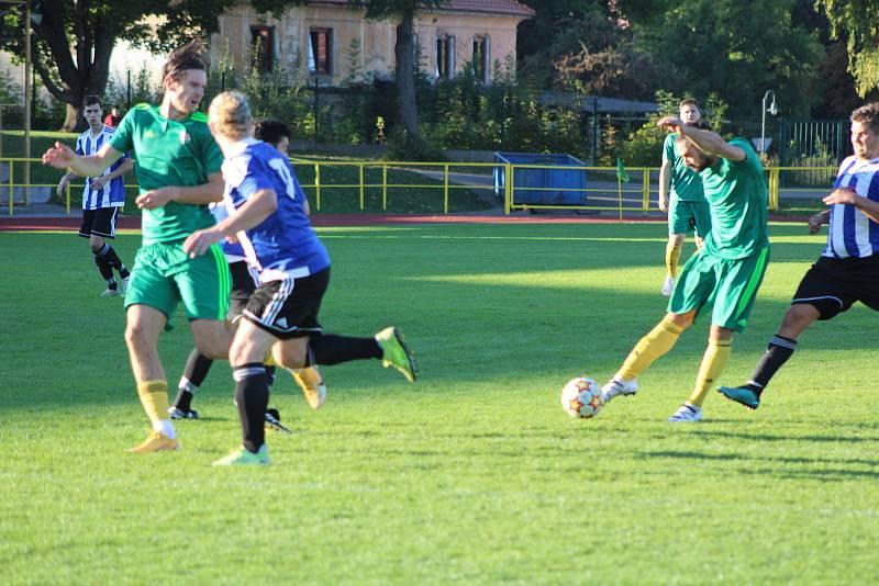 Fotbalový KP: Prachatice - Blatná 2:0.