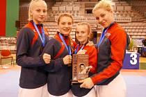Alice Anderlová získala v Portugalsku zlato, stříbro i bronz.