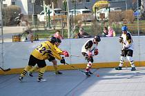 Hokejbalová aréna v Prachaticích bude o víkendu v plném vytížení.
