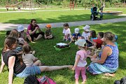 Ve Vodňanech strávili školáci z montessori celý den. Získali mnoho nových zážitků.