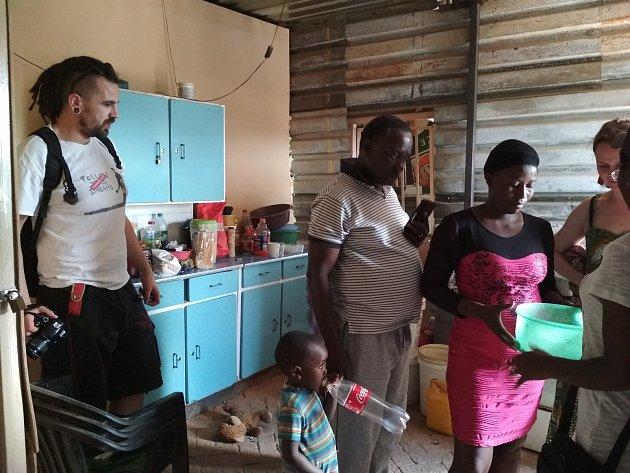 Cesta za 'dětmi' zPrachatic do Namibie.
