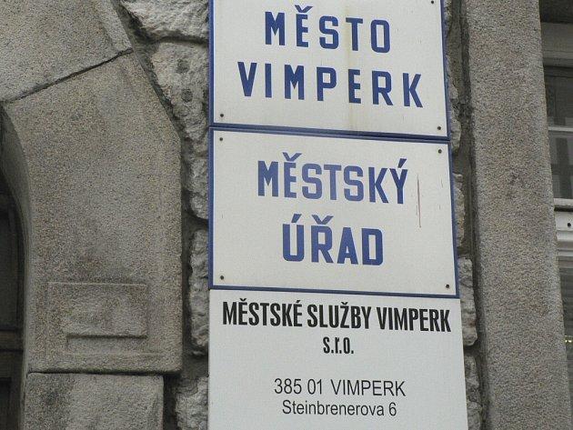 Město Vimperk má příslib dotace, rekonstrukce by měla být hotová do konce letošního roku. Ilustrační foto.