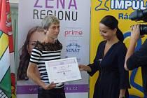 V Českých Budějovicích ve středu 18. září vyhlásili Ženu regionu Jihočeského kraje.