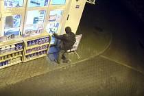 Loupežné přepadení benzinky v Prachaticích.