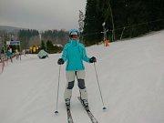 První jarní týden lyžování na Prachaticku přeje.