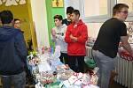 Trhy v Základní škole ve Volarech.