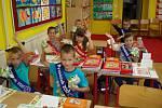 Zahájení školního roku v Základní škole ve Svaté Maří.