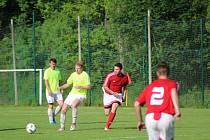 Fotbalová B třída: Strunkovice - Stachy 1:2.