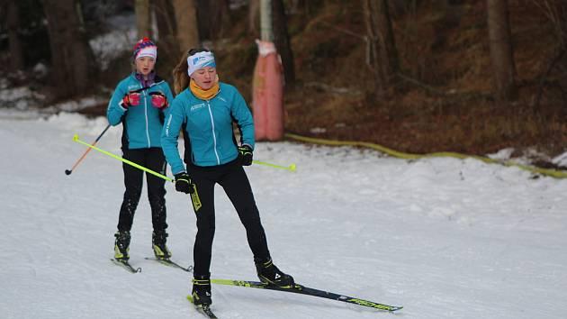 Na Vodníku jsou ro lyžaře klasiky ideální podmínky. Ilustrační foto.