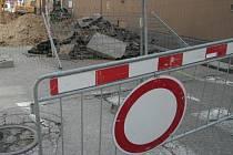 Jánskou ulici zavře od neděle rekonstrukce povrchu vozovky. Určitý čas se tudy bude moci projet pouze směrem do centra.