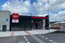 Obchodní centrum ve volarských bývalých kasárnách přivítá první zákazníky ve čtvrtek 2. září.