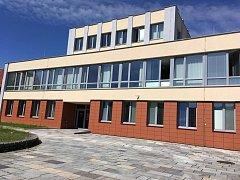 Prachatice, budova Okresního soudu. Ilustrační foto