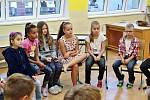 První školní den v Mateřské a Základní škole v Lenoře.