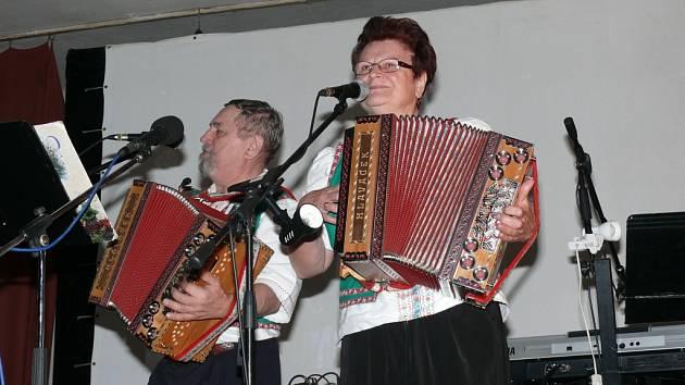 Setkání harmonikářů ve Zbytinách.