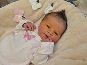 Eliška Novotná se narodila ve strakonické porodnici ve čtvrtek 16. listopadu ve 4.09 hodin. Vážila 3250 gramů. Její rodina žije ve Vimperku.