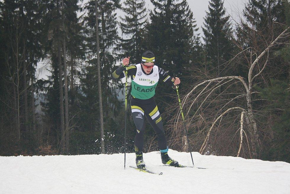 Tomáš Kalivoda na trati.
